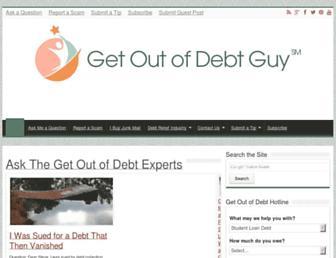 getoutofdebt.org screenshot