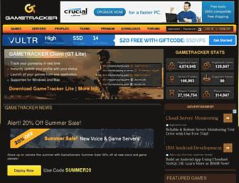 gametracker.com screenshot