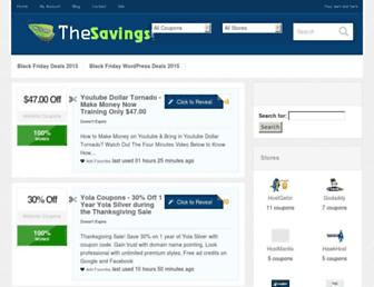 Thumbshot of Thesavings.org