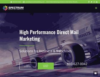 spectrummarketing.com screenshot
