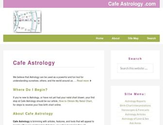 Thumbshot of Cafeastrology.com