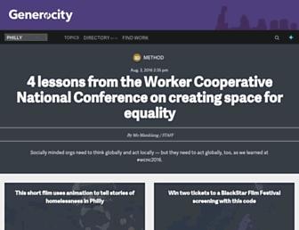 generocity.org screenshot