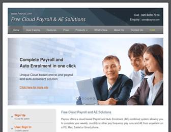 payroo.com screenshot