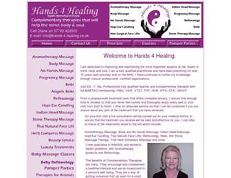 hands-4-healing.co.uk screenshot