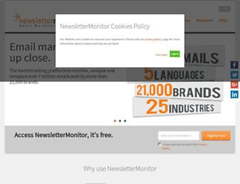 Thumbshot of Newslettermonitor.com