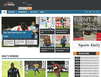 Thumbshot of Africanfootball.com