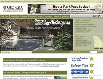 Thumbshot of Gastateparks.org