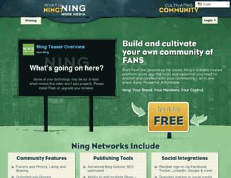 Thumbshot of Ning.com
