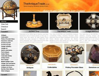 Thumbshot of Theantiquetrade.co.uk