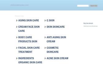 clickonskincare.com screenshot