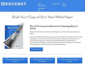 blog.rockbot.com screenshot