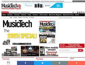musictech.net screenshot