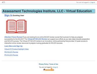 Thumbshot of Atitutor.com