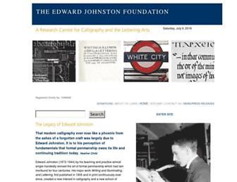 Main page screenshot of ejf.org.uk