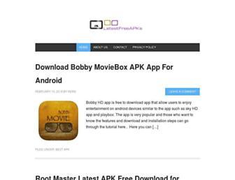latestfreeapks.com screenshot