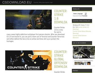 csdownload.eu screenshot