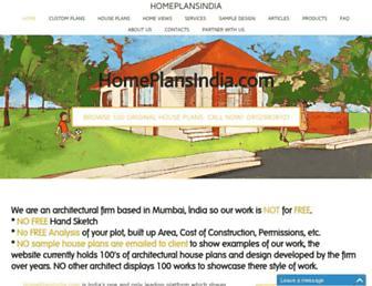 homeplansindia.com screenshot