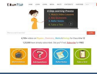 examfear.com screenshot