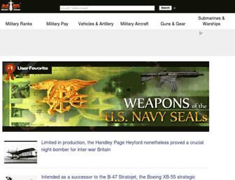 Thumbshot of Militaryfactory.com