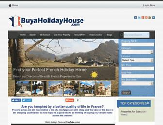 Thumbshot of Buyaholidayhouse.co.uk