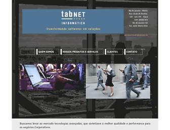 tabnet.com.br screenshot