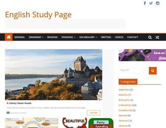 englishstudypage.com screenshot