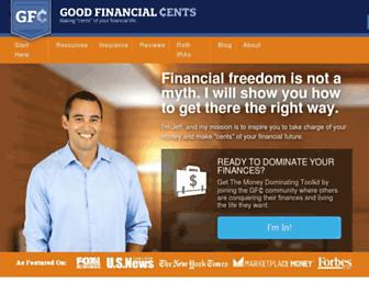 Thumbshot of Goodfinancialcents.com