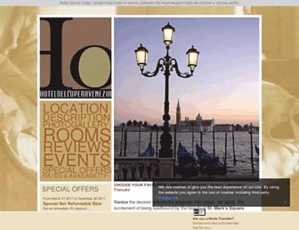hoteldelloperavenice.com screenshot