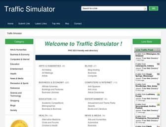 trafficsimulator.net screenshot
