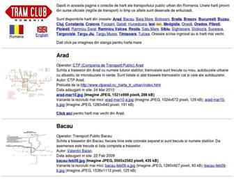 harti.tramclub.org screenshot