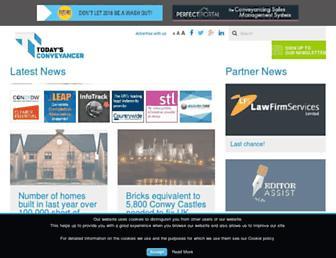 todaysconveyancer.co.uk screenshot