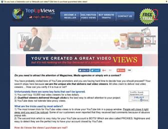 Thumbshot of Topupviews.com