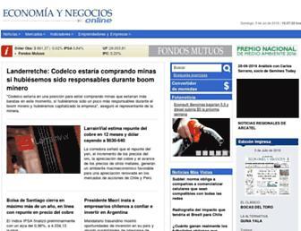 economiaynegocios.cl screenshot