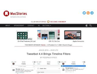 macstories.net screenshot