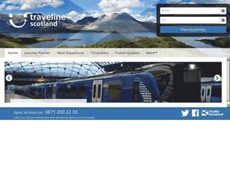 travelinescotland.com screenshot