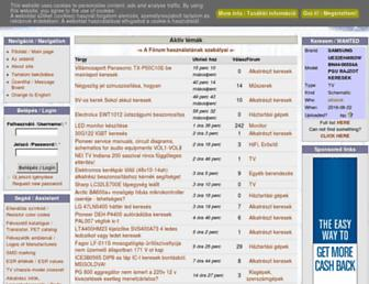 elektrotanya.com screenshot
