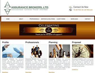 assurancebrokers.com screenshot