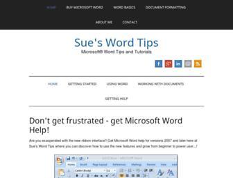 word-tips.com screenshot