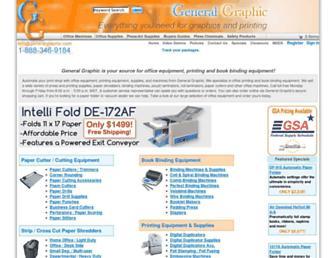 generalgraphic.com screenshot