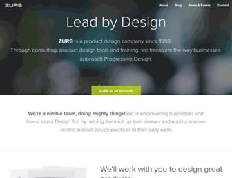 Thumbshot of Zurb.com