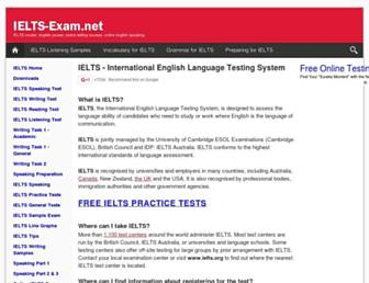 Thumbshot of Ielts-exam.net