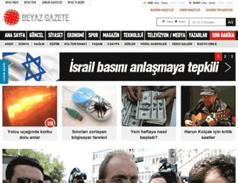 beyazgazete.com screenshot