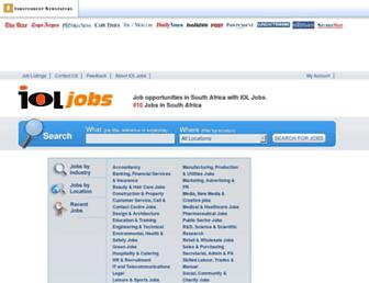 Thumbshot of Ioljobs.co.za
