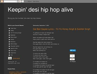 keepindesihiphopalive.blogspot.com screenshot