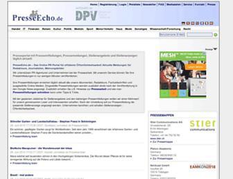 Thumbshot of Presseecho.de