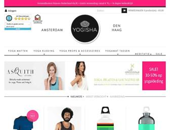 yogisha.nl screenshot