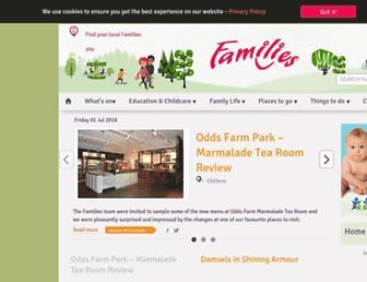 familiesonline.co.uk screenshot