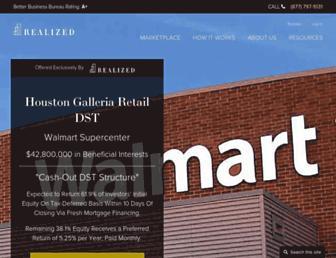 realized1031.com screenshot