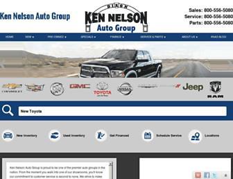 kennelsonauto.com screenshot