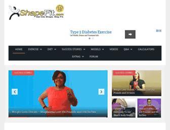 Thumbshot of Shapefit.com